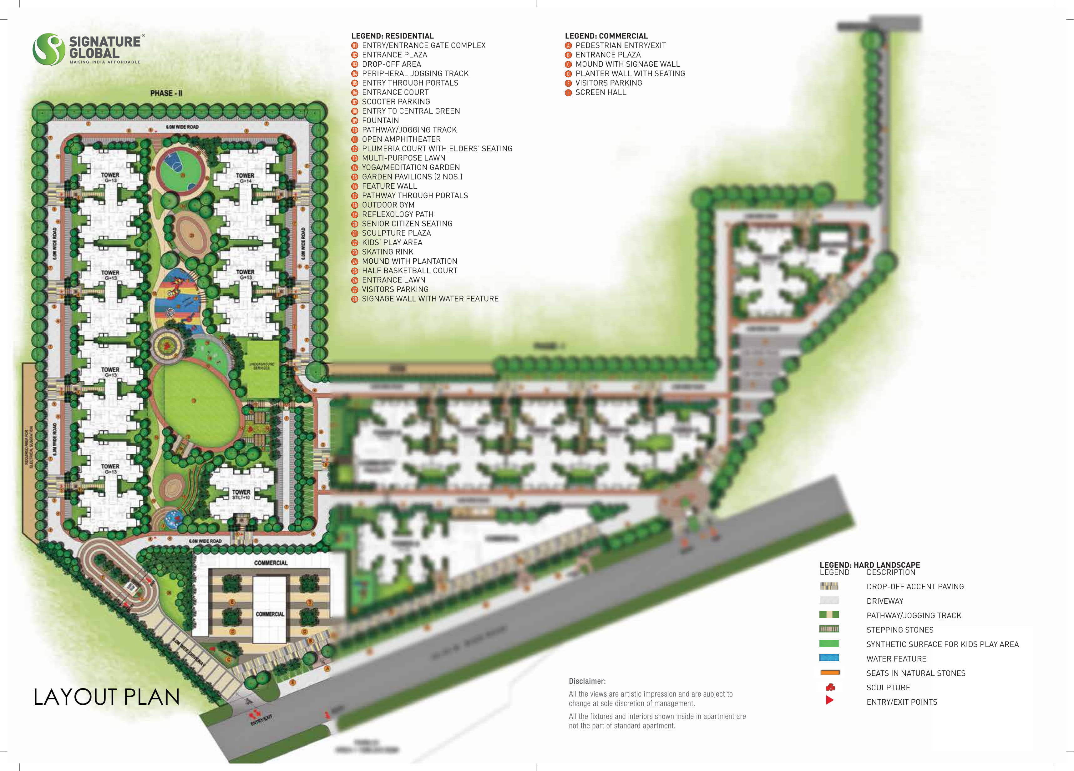 Signature-Global-Orchard-Avenue-2-Site-Plan