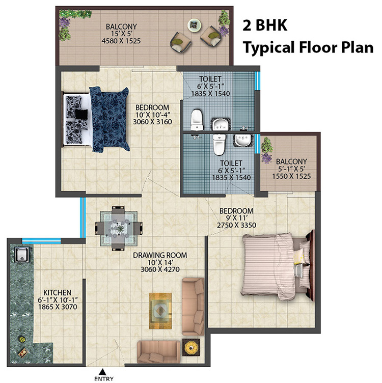 2bhk-floor-plan